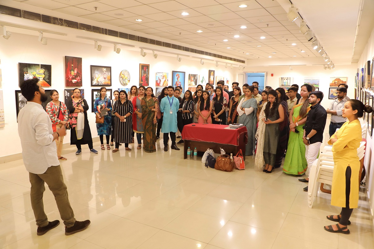 best fine art class in dehradun